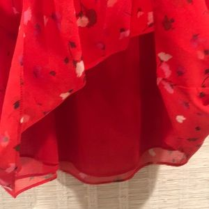 Joie Tops - JOIE Off the shoulder. Red flowy top. Like new. M